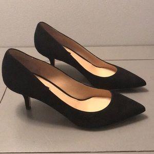 Black Suede Dolce & Gabbana Low Heel
